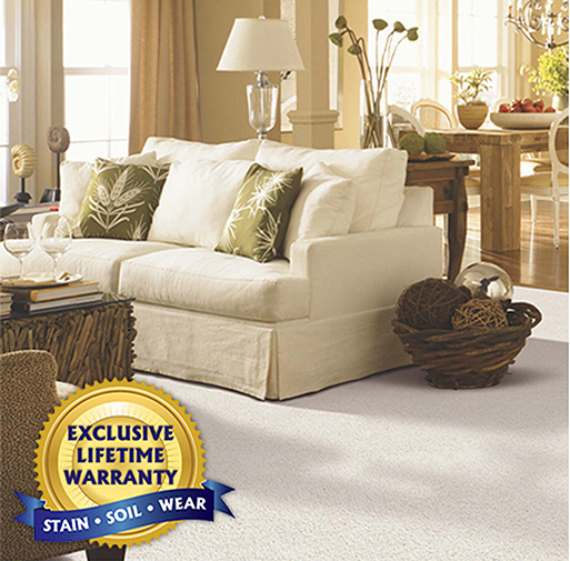 SmartStrand Silk Forever Clean   The toughest, softest, easiest to clean carpet on the planet.